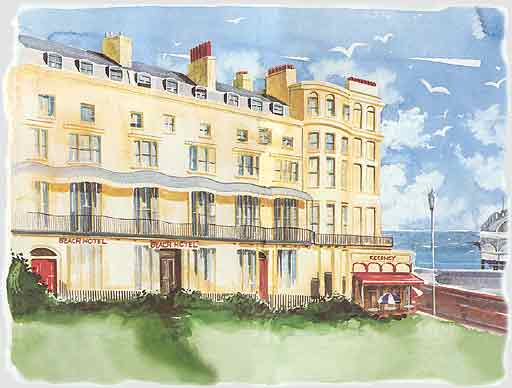 Beach Hotel, Regency Sqaure, Brighton, UK
